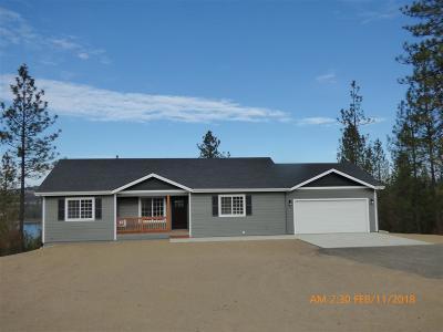 Spokane County, Stevens County Single Family Home For Sale: 28820 W Long Lake Rd