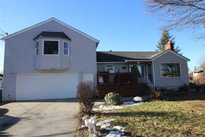 Spokane Valley Single Family Home For Sale: 1625 N Locust Rd
