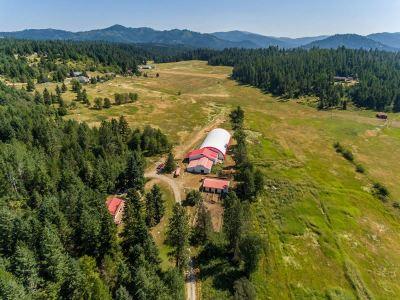 Bonner County, Kootenai County Single Family Home For Sale: 15948 N Boot Hill Rd