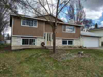 Spokane Valley Single Family Home For Sale: 1011 S Blake Rd