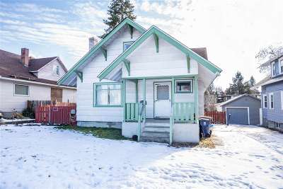 Spokane Single Family Home For Sale: 2307 W Buckeye Ave