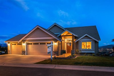 Spokane Single Family Home Chg Price: 8722 E Woodside Ln