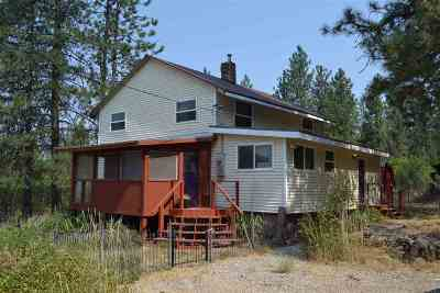Spokane County, Stevens County Single Family Home New: 5882a Carey Rd