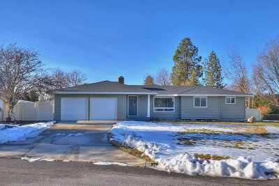 Spokane Valley Single Family Home New: 12021 E 27th Ave