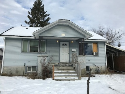 Spokane Single Family Home For Sale: 607 E Wellesley Ave