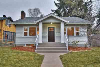 Spokane Single Family Home New: 1617 W 10th Ave