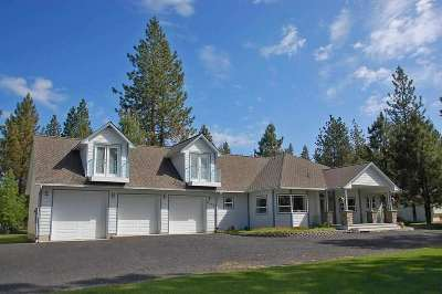 Nine Mile Falls Single Family Home New: 6498 Long Lake Dr