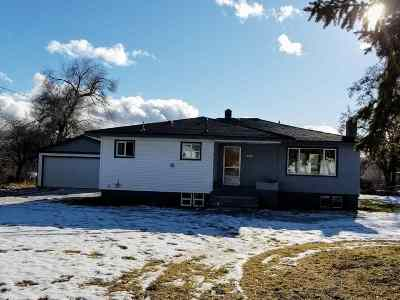 Spokane Valley Single Family Home New: 12802 E Valleyway Ave