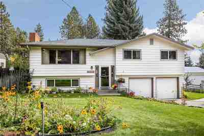 Spokane, Spokane Valley Single Family Home For Sale: 13212 N Pittsburg St