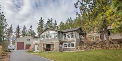 Spokane County, Stevens County Single Family Home Ctg-Sale Buyers Hm: 5719 N Forker Rd