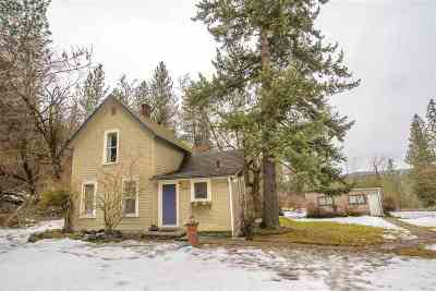 Spokane Single Family Home For Sale: 2423 W Bennett Ave