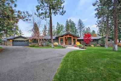 Spokane WA Single Family Home For Sale: $1,200,000