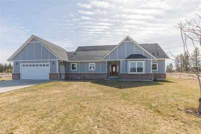 Spokane Single Family Home For Sale: 4801 W Hallett Rd