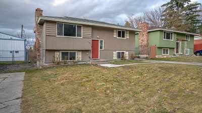 Spokane Single Family Home For Sale: 3615 E 12th Ave