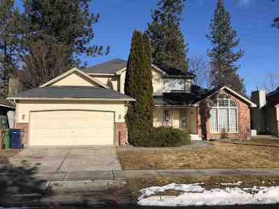 Spokane Single Family Home For Sale: 5808 W Old Fort Dr
