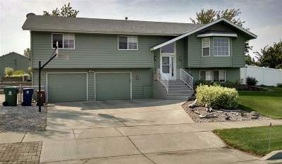 spokane Single Family Home For Sale: 5223 W Bedford Ave