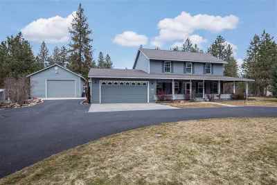 Colbert Single Family Home For Sale: 4411 E Day Mt Spokane Rd