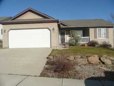 Cheney WA Single Family Home For Sale: $197,500