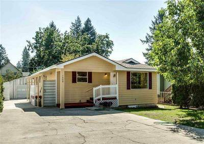 Spokane Single Family Home For Sale: 1608 E 7th Ave