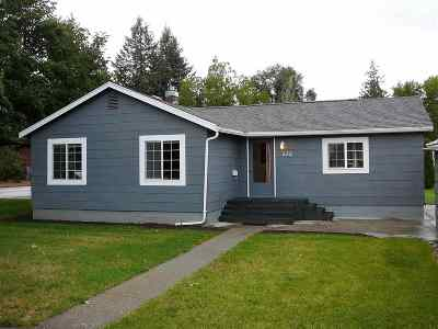 Cheney WA Single Family Home For Sale: $198,000