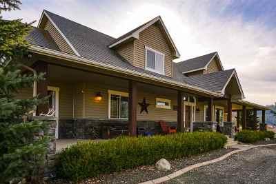 Single Family Home New: 11403 E Burnett Rd