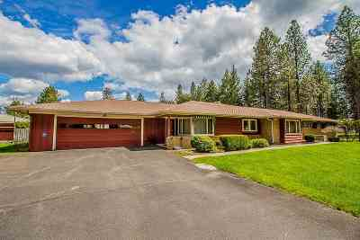 Spokane Valley Single Family Home Ctg-Inspection: 2025 S Blake Rd