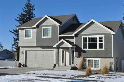 Spokane Valley Single Family Home New: 1220 S Bolivar Ln