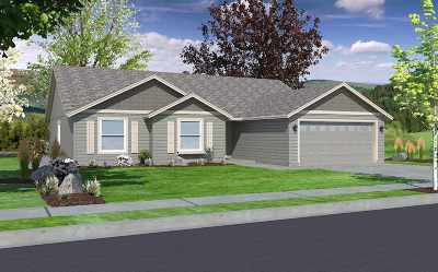 Spokane Valley Single Family Home New: 18821 E Buckeye Ave