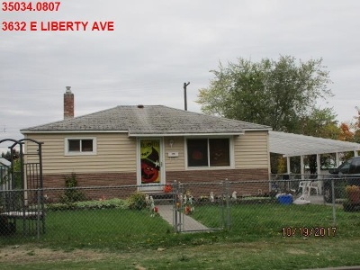Single Family Home Ctg-Short Sale: 3632 E Liberty Ave