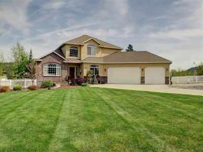 Spokane, Spokane Valley Single Family Home For Sale: 5623 S Pierce Rd