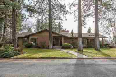 Spokane Single Family Home For Sale: 3428 S Lincoln Dr