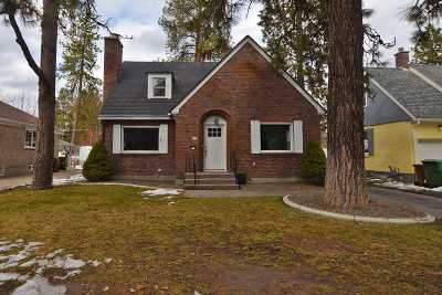 spokane Single Family Home Ctg-Inspection: 414 W 29th Ave