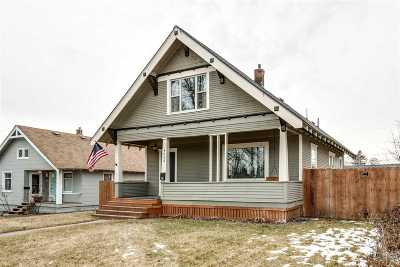 Spokane Single Family Home Ctg-Inspection: 4023 N Wall St