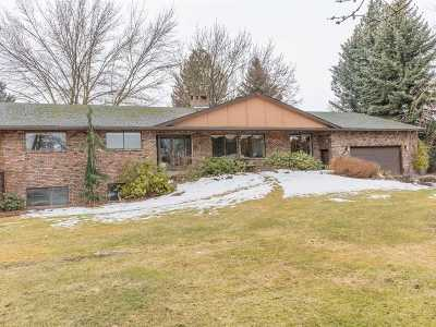 Veradale Single Family Home For Sale: 3411 S Adams Rd