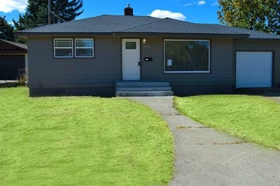Spokane Single Family Home Ctg-Inspection: 5927 N Cannon St