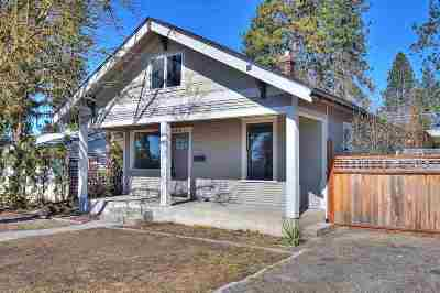 Spokane Single Family Home Ctg-Inspection: 3934 W Hoffman Ave