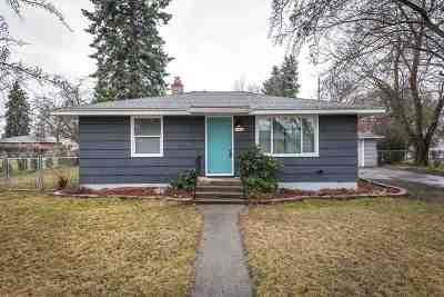 Spokane Single Family Home New: 7920 E Shannon Ave