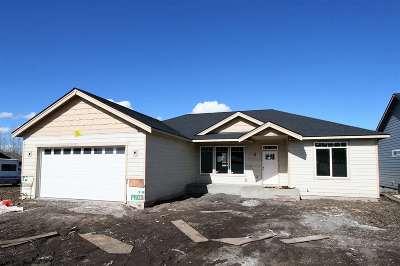 Spokane Valley WA Single Family Home New: $299,900