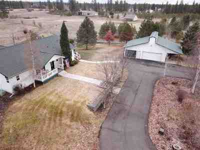 Spokane County, Stevens County Single Family Home New: 12618 S Sherman Rd
