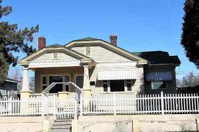 Spokane Single Family Home Ctg-Inspection: 709 E Bridgeport Ave