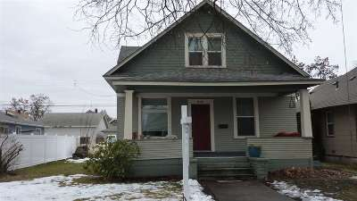 Spokane WA Single Family Home New: $225,000