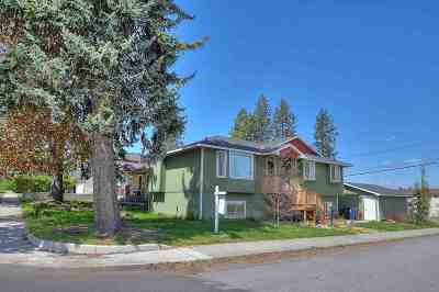Spokane WA Single Family Home New: $290,000