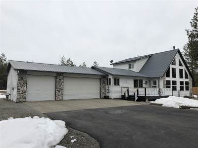 Rathdrum/Id Single Family Home For Sale: 27907 N Clagstone Rd