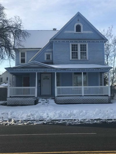 Spokane Single Family Home For Sale: 1207 W Maxwell Ave
