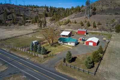 Spokane, Spokane Valley Single Family Home For Sale: 14314 W Coulee Hite Rd