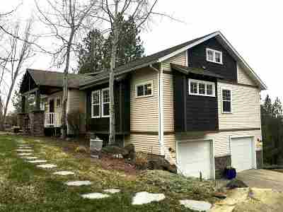Spokane Single Family Home For Sale: 11301 S Stevens Creek Rd