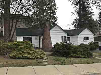 Spokane Single Family Home For Sale: 1927 W Fairview Ave