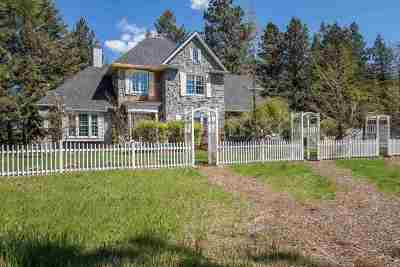 Spokane Single Family Home For Sale: 8421 S Sagewood Rd