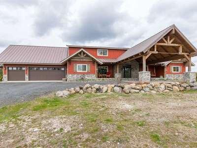 Spokane County Single Family Home For Sale: 12721 E Deer Creek Rd