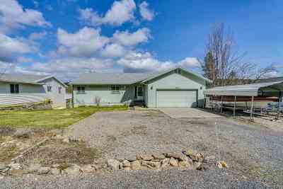 Coeur D Alene Single Family Home For Sale: 18586 S Watson Rd